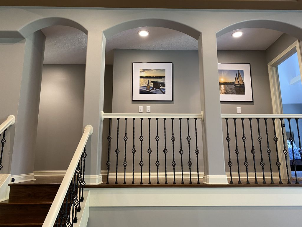 Beautiful after interior painting